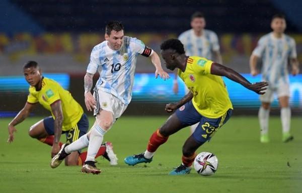 補時失守 阿根廷2:2哥倫比亞