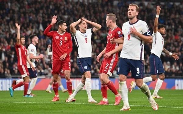 英格蘭1:1逼和匈牙利