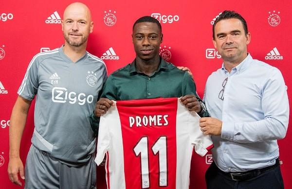 普美斯跟阿積士簽約5年。