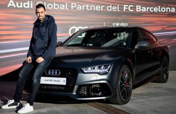 巴塞隆拿最近跟Audi結束贊助合約。