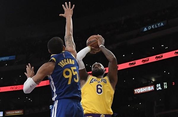 NBA明開鑼 LBJ戰意高昂