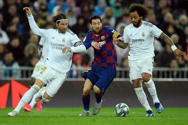 巴塞現時仍落後於皇家馬德里。