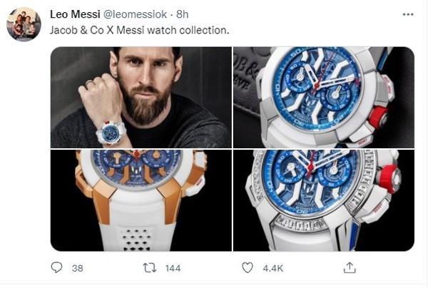 美斯推限量版手錶