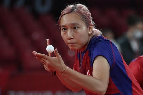 蘇慧音代表女團爭入4強。