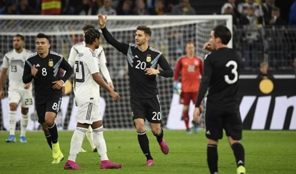 阿拉利奧1+1 阿根廷逼和德國2:2