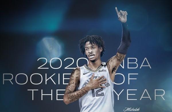 摩蘭膺NBA最佳新人