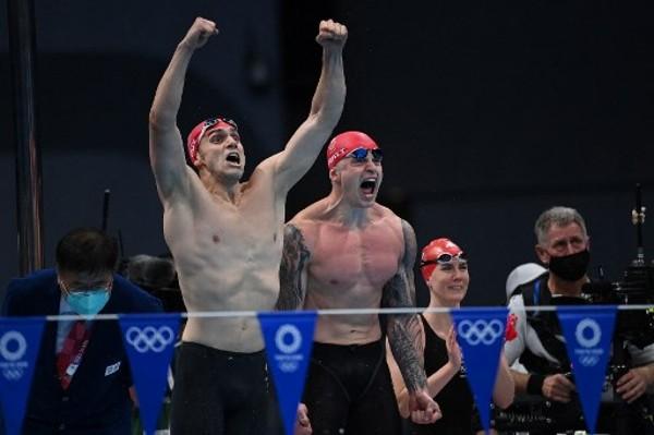 英國以破世界紀錄時間奪金。