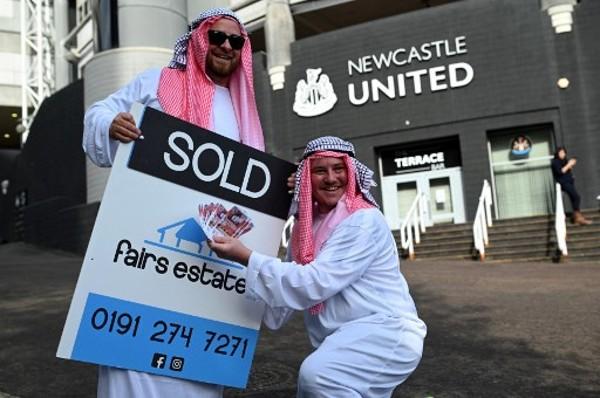 紐卡素籲球迷勿穿阿拉伯服裝