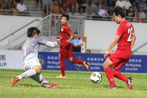 香港2:1挫新加坡重啟勝門