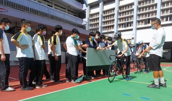 國家盃「踩」入校園推廣單車文化