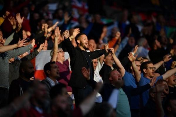 英格蘭在16強將獲大批球迷支持。