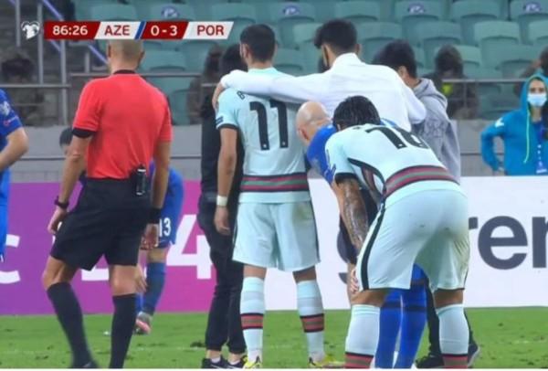 好彩C朗唔喺度 阿塞拜疆球迷失控